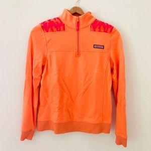 Vineyard Vines Orange Shep Shirt Pullover